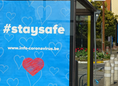 #staysafe logo