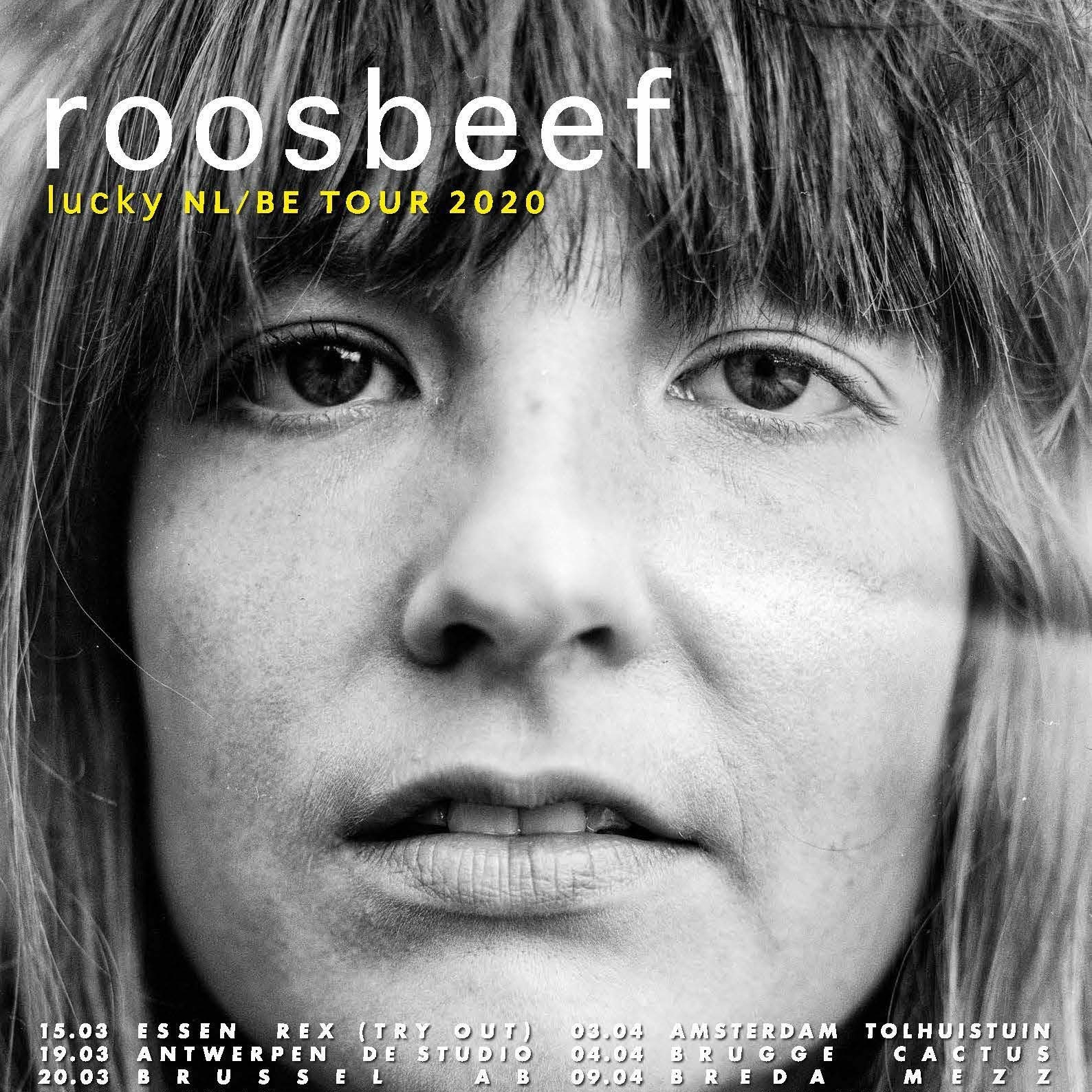Poster Roosbeef - lucky tour